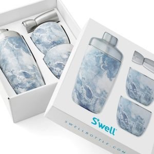 S'well Marble 4pc Cocktail Kit.